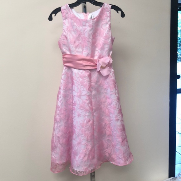 Rare Editions Other - NEW Rare Editions Girls Pink Floral Formal Dress